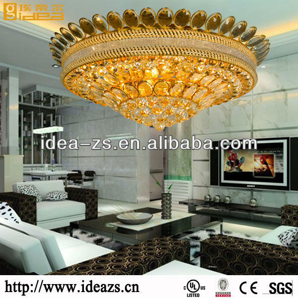 led celling lamp crytal chandelier living room lighting