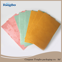 2016 new rose pattern colored pearlescent paper envelope
