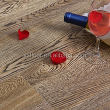 White oak 12mm thickness indoor laminate flooring
