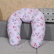 comfy printed canvas beanbag cushion pillow for baby& pregmant mama wholesale from factory