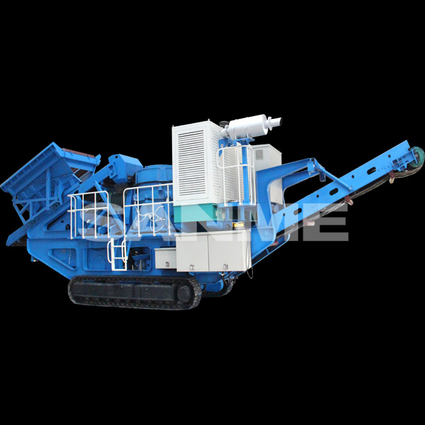 SANME MP-C Mobile Stone Crusher Plant Layout