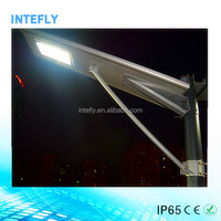Factory Wholesale Integrated 30W solar powered led lights Outdoor street light