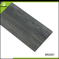 Waterproof Fireproof non-slip pvc vinyl floor covering for restaruants 4mm click