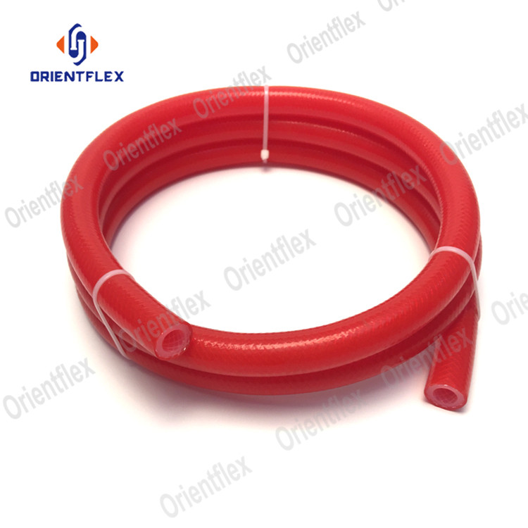 Cheap price fabric 1 2 reinforced hose silicone rubber