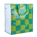 factory supply eco friendly clothing laminated woven bag with zipper
