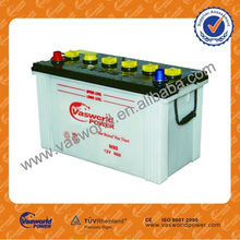 automobile battery N90 12V90AH dry charged car battery
