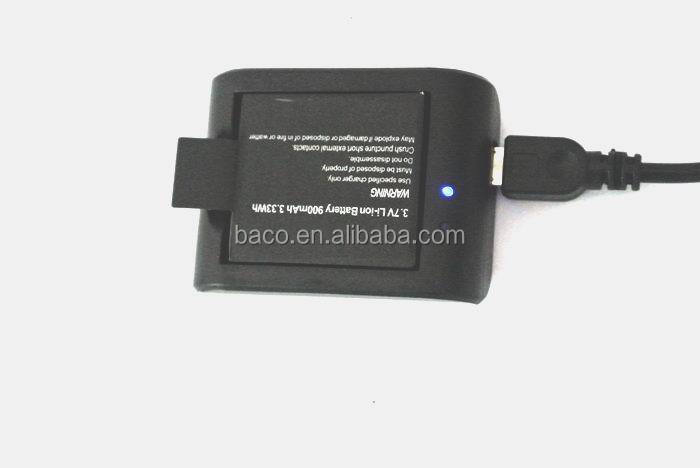 Original SJ4000 camera battery 3.7V Li-ion battery 900mAh rechargeble battery