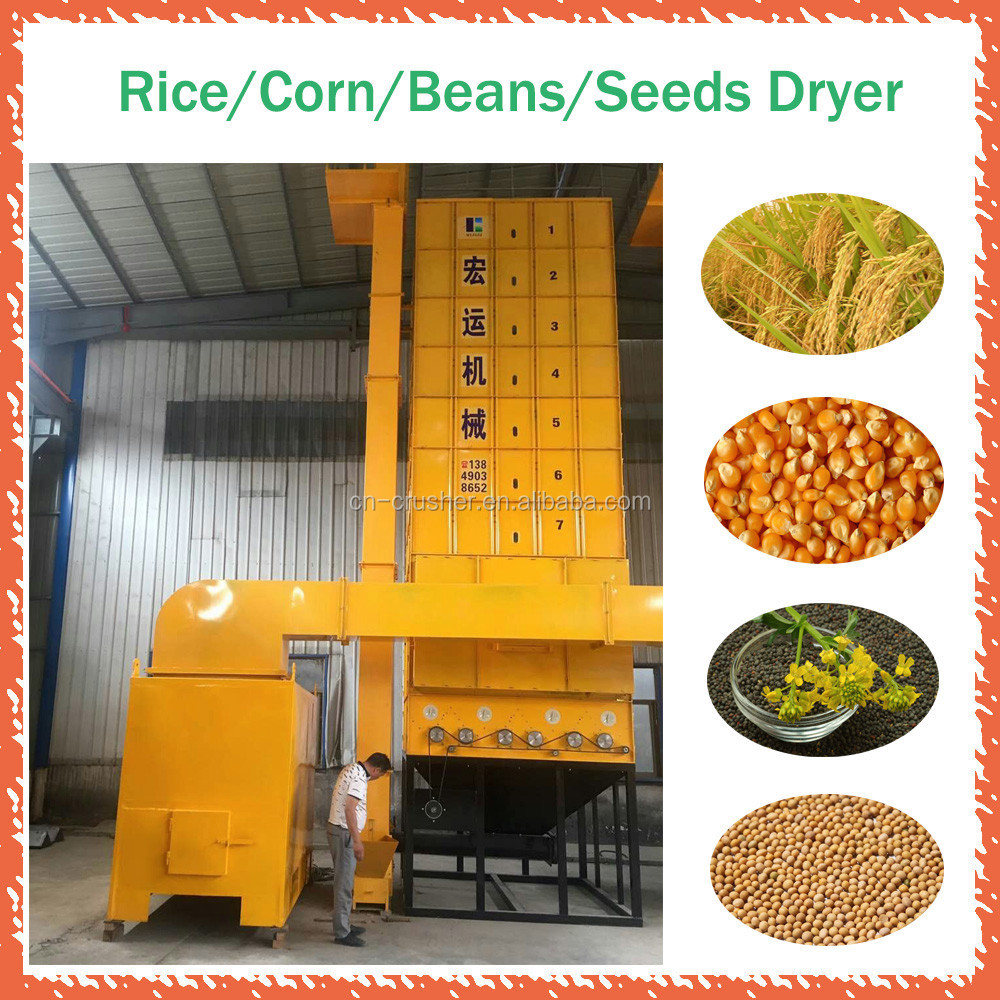 Supply best quality grain cereal dryers rice corn wheat maize grain dryer