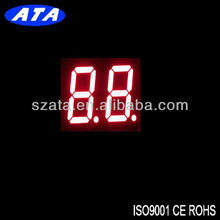 common anode red color 2 digit indoor led timer (ATA5261BR)