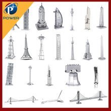 World Famous Architecture 3D Puzzle Metal