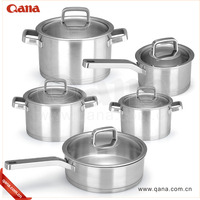 High quality impact bonding bottom stainless steel cookware