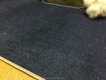 MD29ST 98% Cotton 2% Spandex Indigo Raw Denim Selvedge Denim Selvage Denim