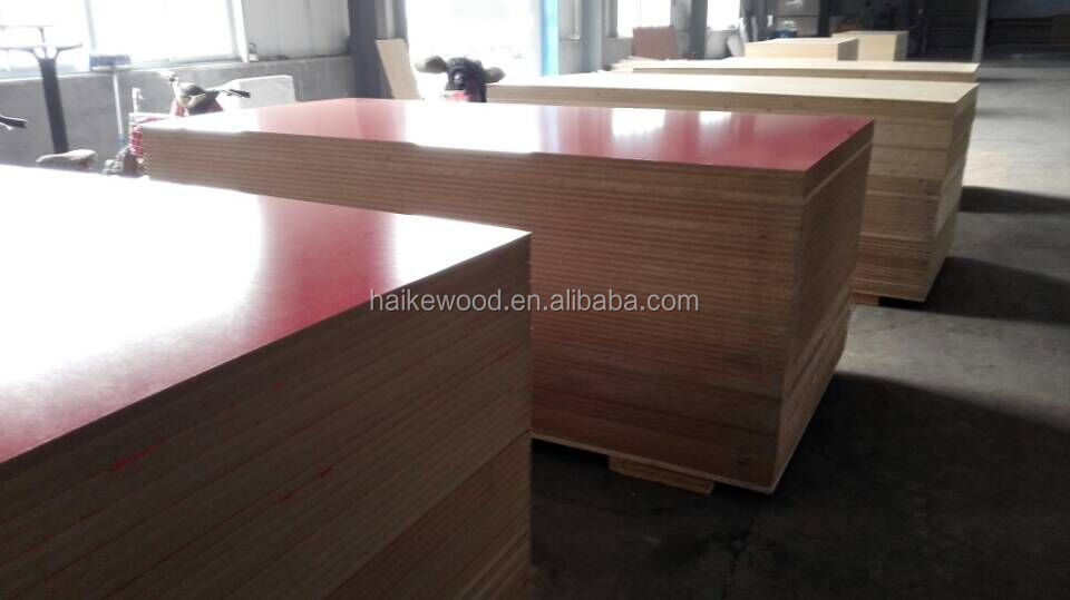 High quality Furniture Plain MDF Board / Raw Mdf Sheet/melamine MDF