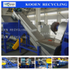 Waste plastic bags recycling machine/PP PE plastic bag rinsing