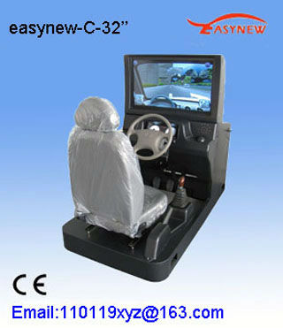 2013 invention 32 inch LCD with best vehicle driving simulators cheap price