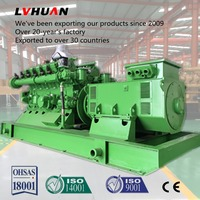 Lvhuan 350kva Natural Gas / Propane Standby Generators big power natural gas generator