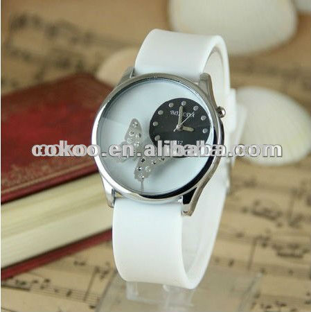 2013 Hot Sale Silicone Wrist Watch,Charm Watch