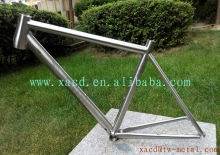titanium mtb bike frame custom mountain bike frame with inner line routing engraved logo bicycle frame