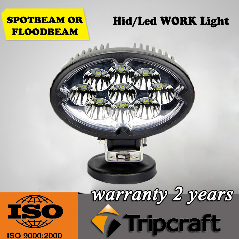 Guangzhou factory direct car accessories 27w led work light 5