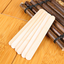 Disposable hair removal lacquered wooden wax sticks spatulas