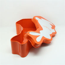 Fashion Candy Special cute rabbit shape tin box for gift/decoration wholesale