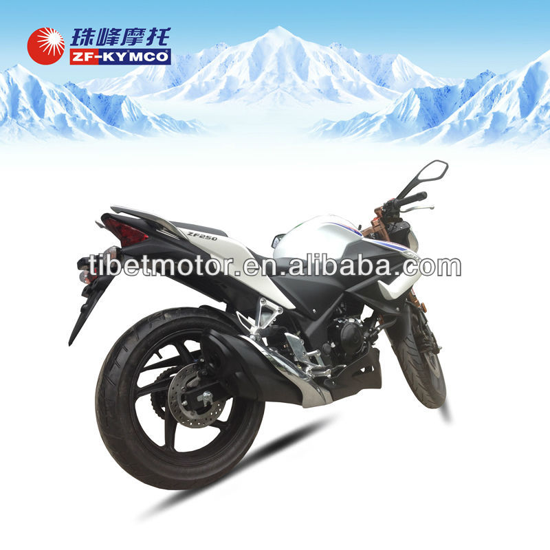 ZF-KYMCO 250cc popular cheap racing motorcycle with new design for sale (ZF250)