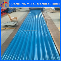 paint color metal roofing sheets prices