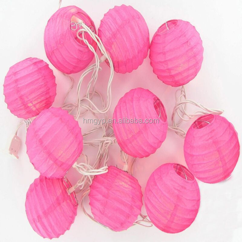 paper lantern string garland for party decorations