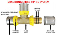 Natural gas pipe fitting, pipe clamp fitting, Australia standard with WATERMARK certification