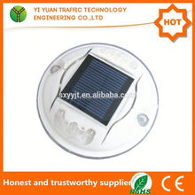 China factory wholesale CE ROHS Certificate flashing led road safety wireless solar fiberglass driveway marker