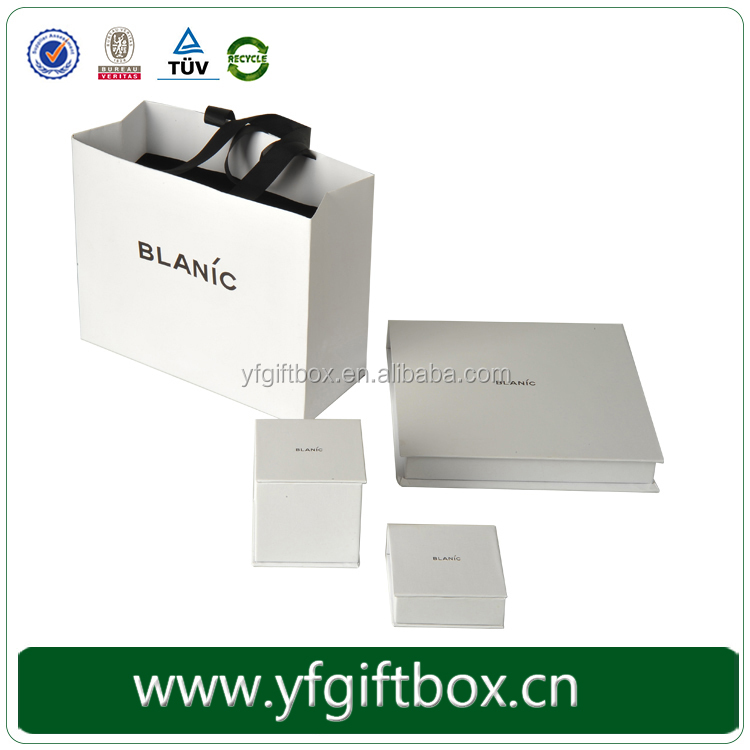 Guangzhou Top Quality Cardboard Custom Make Logo Printed Paper Jewelry Box