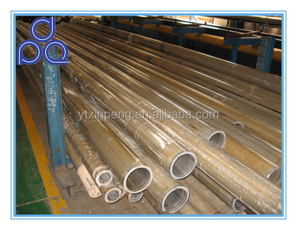 Hydraulic cylinder using seamless st52 din2448 cold drawn steel pipe