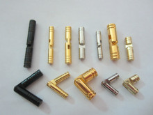 factory High quality solid brass small cylindrical concealed hinge barrel hinge for wooden box