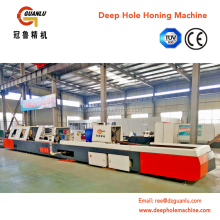 Telescopic hydraulic cylinder honing machine