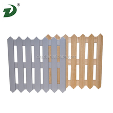2014 Folding wooden fence for garden,home wholesale