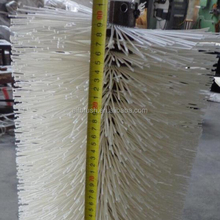 "36"" Length White Color Poly wire Snow Cleaning Street Sweeper Brushes"