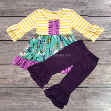 Smocked Kids Girls Fall Long Sleeve Long Pants Boutique Clothing Persnickety Boutique Outfits