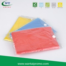 Biodegradable Reusable Kids Rain Poncho