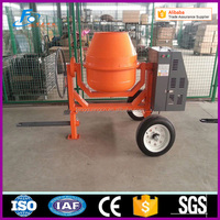 350L gasoline engine concrete mixer machine from factory