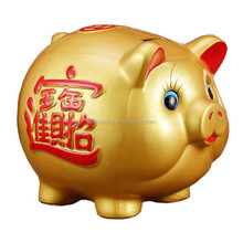 customized fortune pig money box for sale