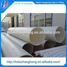 Trade Assurance Supplier 250mm clear pvc pipe and fittings,large diameter pvc pipe