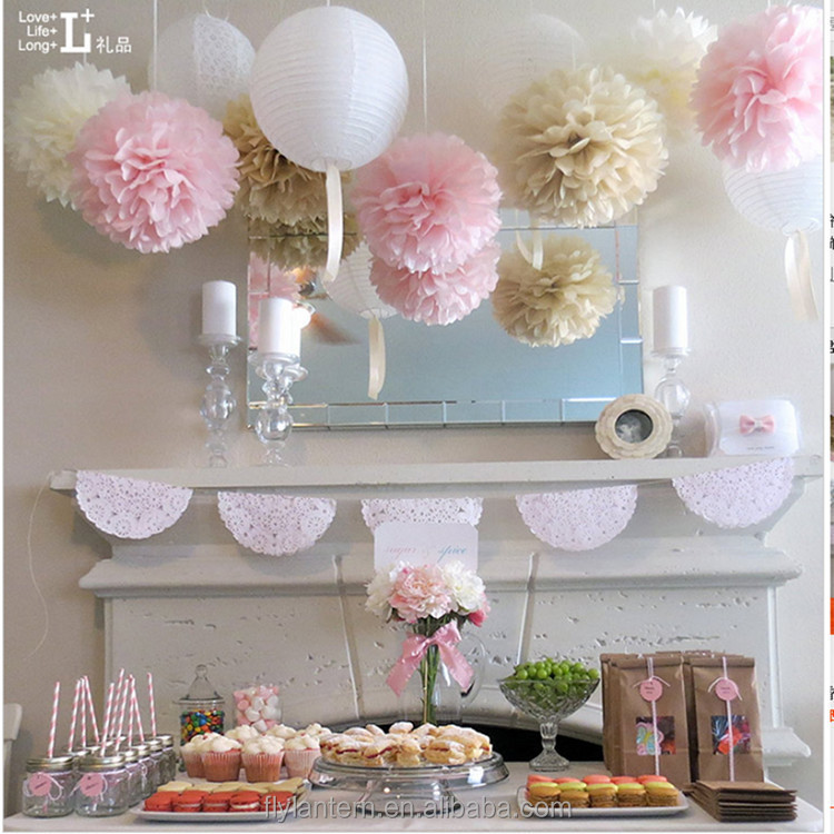 Hot Sale 40 40 Cm Diy Paper Flower Hanging Flower Balls For Wedding Extraordinary Paper Flower Ball Decorations