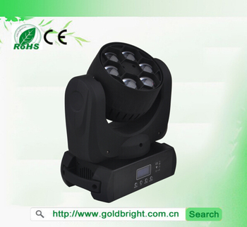 6x15Watt RGBW 4in1 Led Bee Moving Head Matrix Beam Stage light