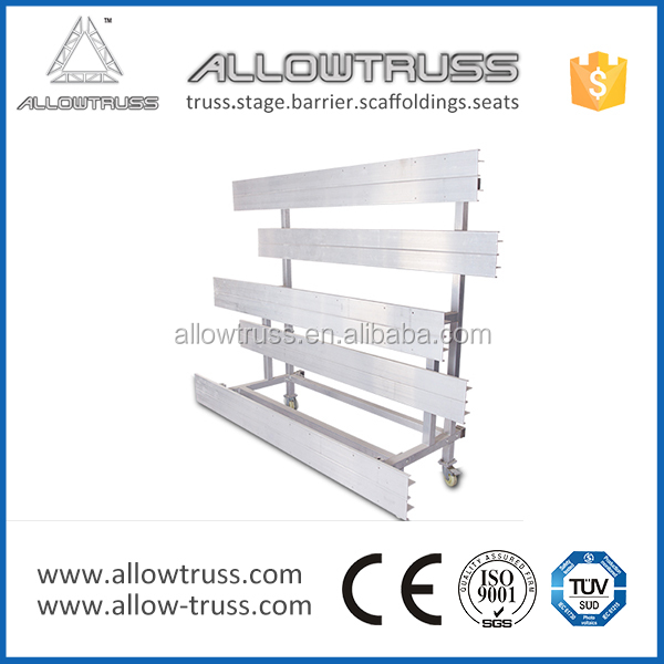 AllowTruss High quality mobile grandstand seating retractable seating