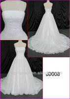 2014 guangzhou real sparkling fairy tale tulle ball wedding gown/bridal dress with heavy beading/sequin fabric JD008