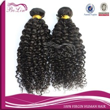 6a grade no shedding no tangle natural color Jerry curl peruvian virgin hair weave,no chemical smell