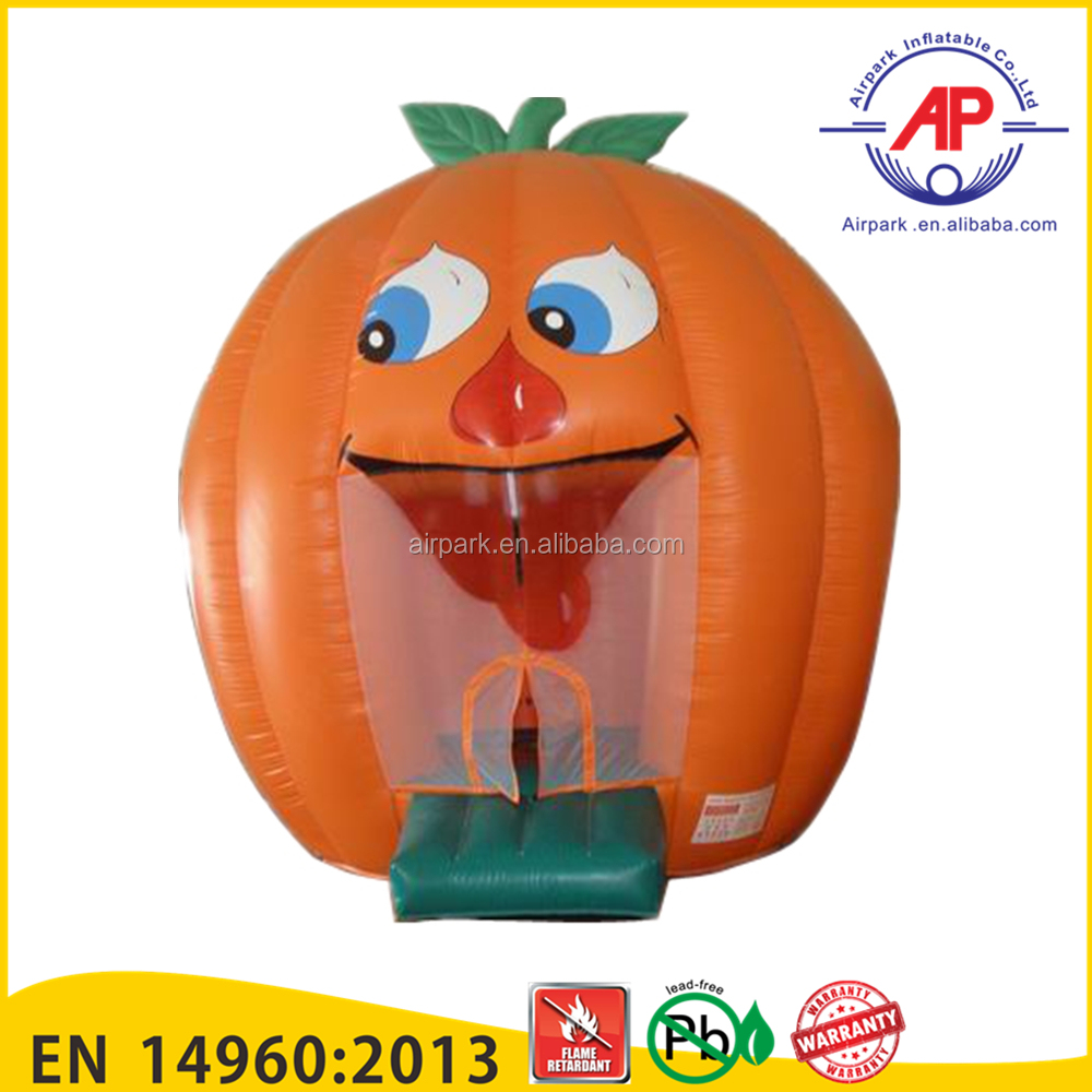 Promotion 2016 Top Seller inflatable pumpkin bounce house for sale