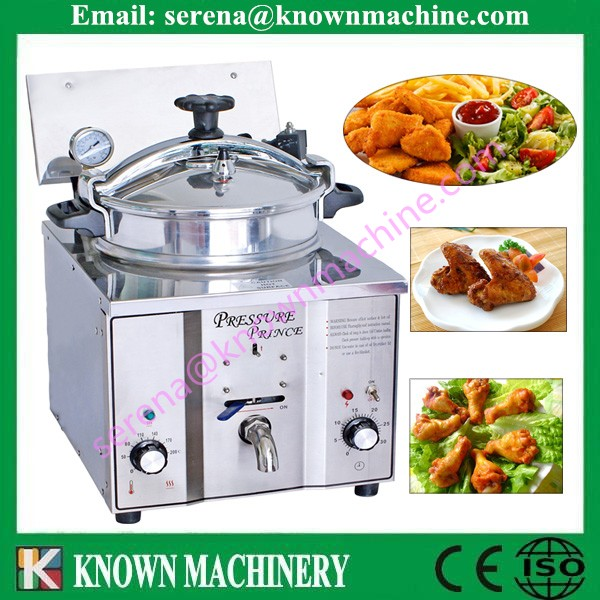 broasted electric pressure fryer /broaster pressure fryer /fried chicken machine