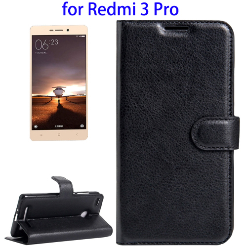 New Arrival Flip Leather Case for Mini Xiaomi Redmi 3s Pro Back Cover