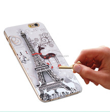 Custom design soft art cell phone cover for iphone 6 tpu case